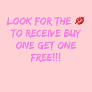 Check out my closet!! 💋 Means BUY 1 GET 1 FREE